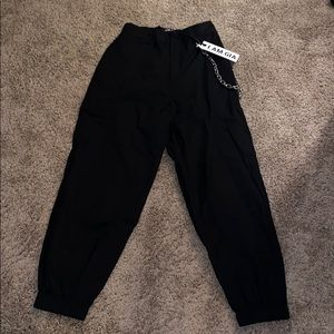 I.AM.GIA Pants - I.AM.GIA. black chain pants